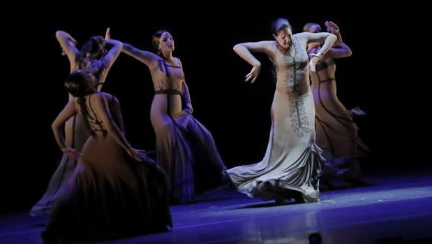Momento del espectáculo «Yo, Carmen»