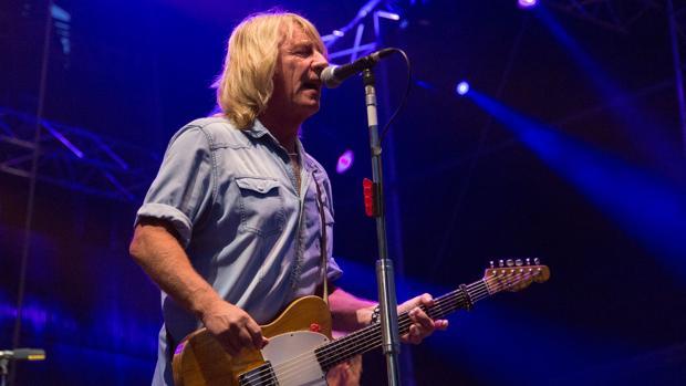 Rick Parfitt, durante un concierto de Status Quo