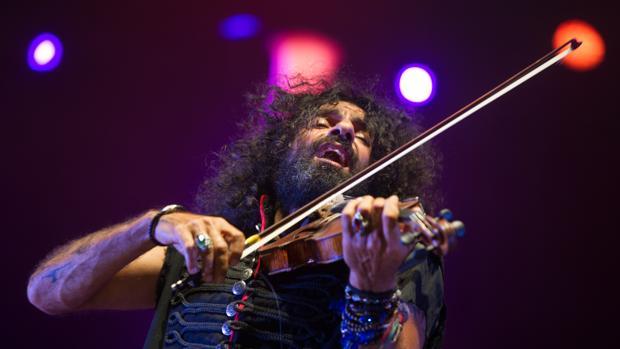 Ara Malikian, durante un concierto
