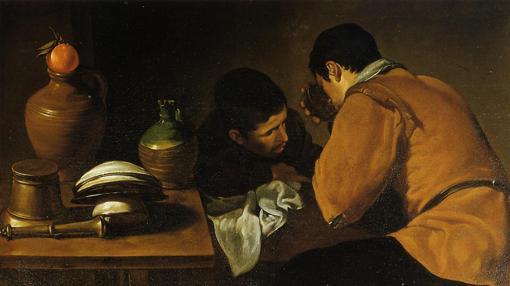 «Dos jóvenes en la mesa», de Velázquez