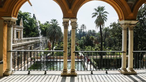 Los jardines del Alcázar de Sevilla