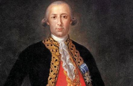 El militar malagueño Bernardo de Gálvez