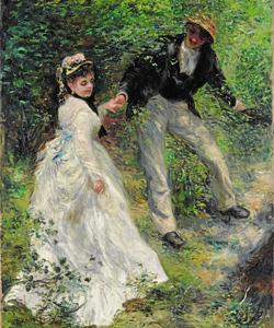 «El paseo», de Renoir.