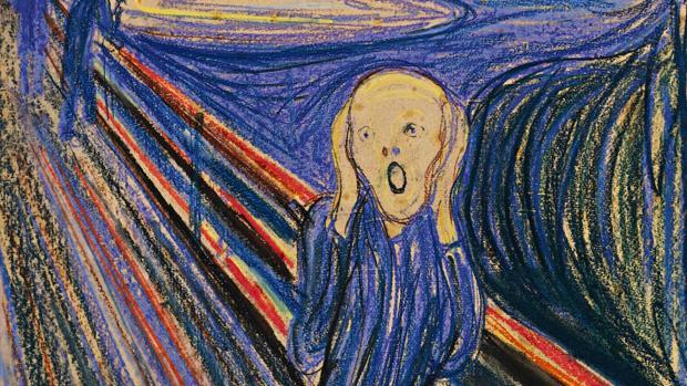 La tecnología rayos X explica las misteriosas manchas blancas en «El grito» de Munch