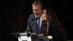 Ángela Molina y el ministro de Cultura rinden homenaje a Aute en San Sebastián