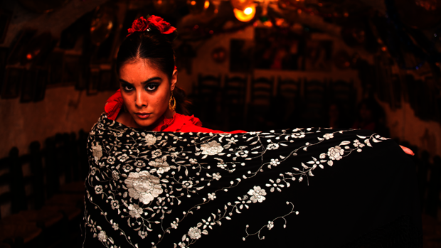 Alba Heredia, bailaora participante en Flamenco Joven