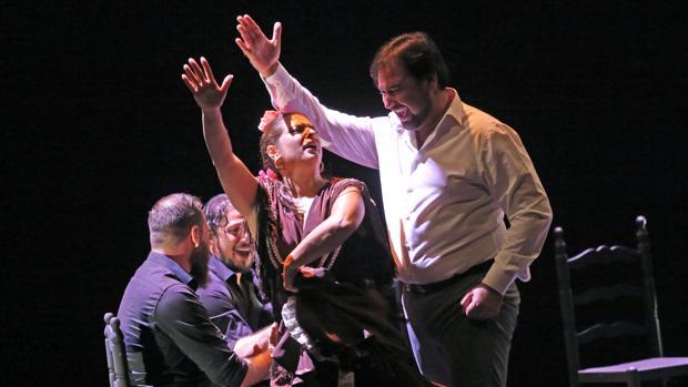Espectáculo de Jose Valencia, «De Sevilla a Cadiz», en el Teatro Lope de Vega