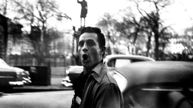 Jack Kerouac, fotografiado por su compañero de la Generación Beat Allen Ginsberg