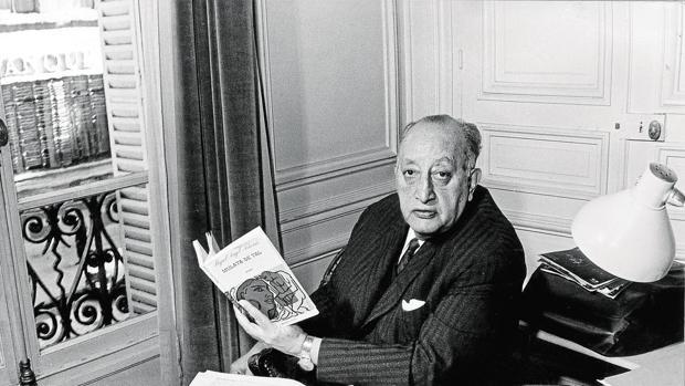El escritor Miguel Ángel Asturias (1899-1974)