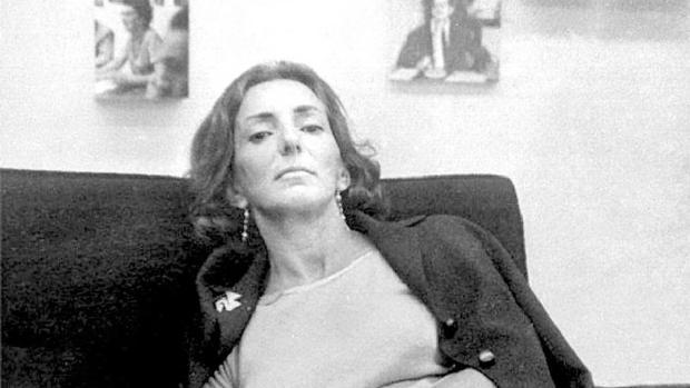 La poeta uruguaya Idea Vilariño (1920-2009)