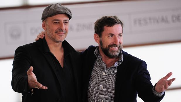Roberto Álamo y Antonio de la Torre, protagonistas del filme de Sorogoyen