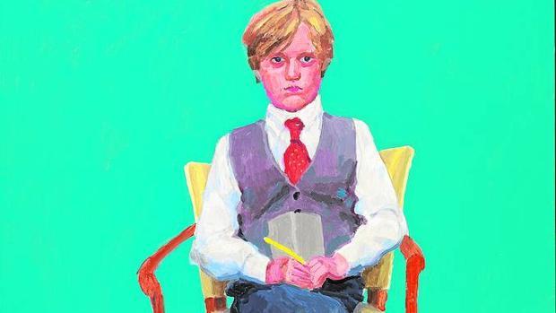 Retrato de Rufus Hale, el único niño retratado en esta serie