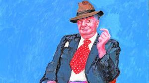 La comedia humana según Hockney