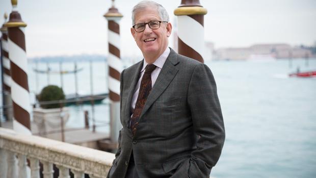 Jonathan Galassi, autor de «Musa», en Venecia