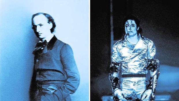 «Díptico. Baudelaire y Michael Jackson», de Lorraine O'Grady