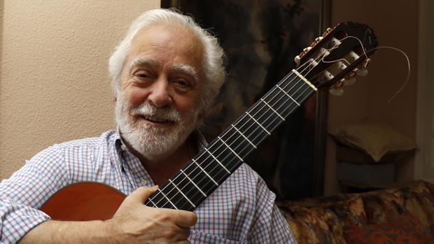 El guitarrista Manolo Sanlúcar en una imagen de archivo