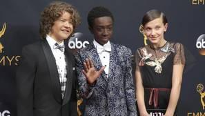 Los niños de «Stranger Things», protagonistas de los Emmy a ritmo de Bruno Mars