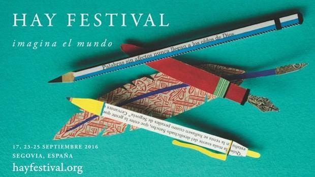 Cartel de la edición 2016 el Hay Festival de Segovia