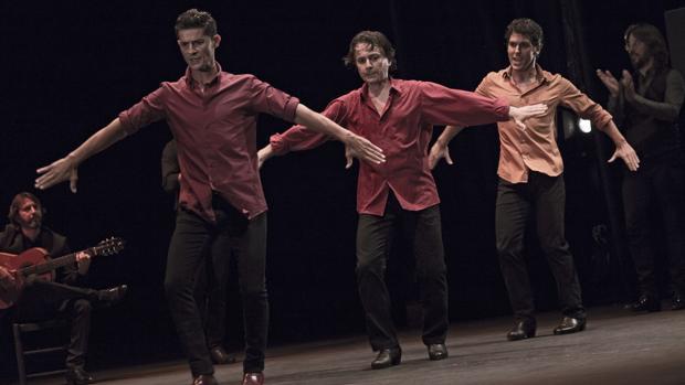 El trío de bailaores presentó «Inmanencia»