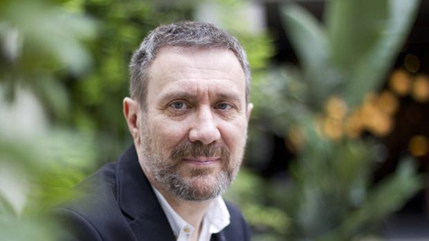 Luisgé Martín, fotografiado en Barcelona