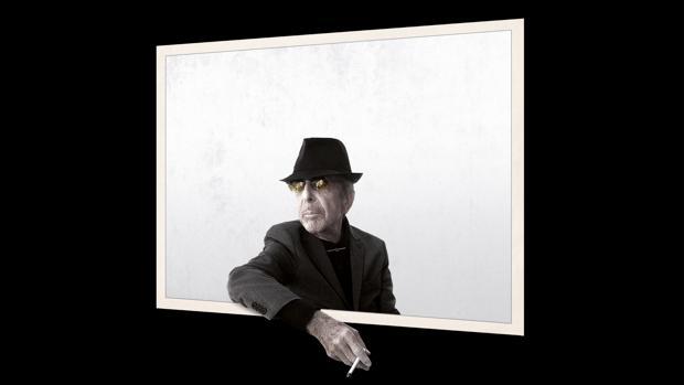 Así aparece Leonard Cohen en la portada de su nuevo disco, «You want it daker»