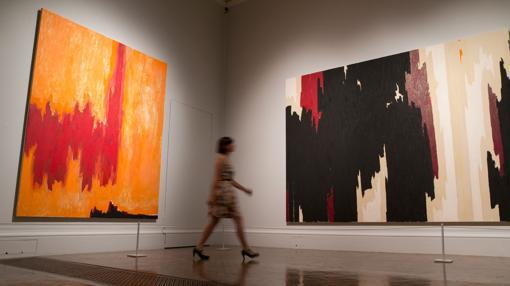 Obras de Clyfford Still presentes en la exposición