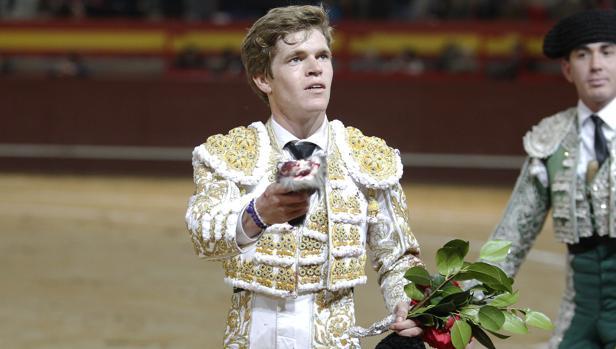El torero Borja Jiménez