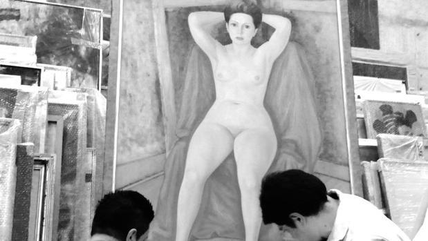 El retrato de Pita Amor que realizó su buen amigo Raúl Anguiano