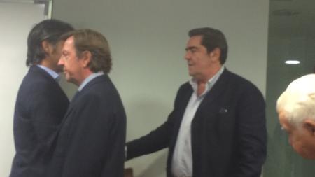Saludo de Manuel Martínez Erice y Nacho Lloret