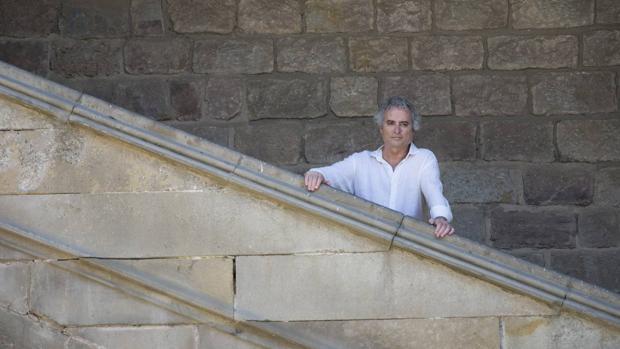 Ildefonso Falcones, autor de «Los herederos de la tierra»