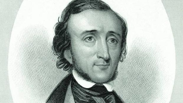 Edgar A. Poe, autor de «El cuervo»