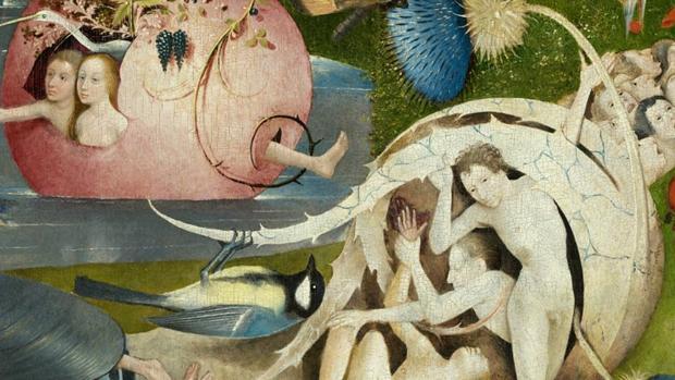 Detalle de «El jardín de las delicias», del Bosco