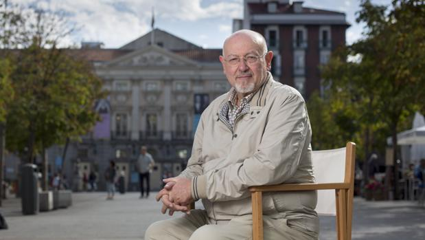 Juan Eslava Galán, la semana pasada en Madrid