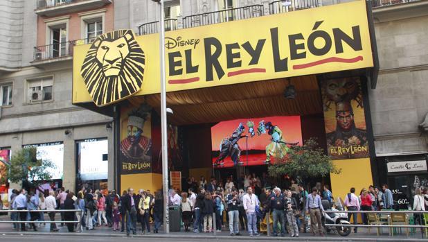 Fachada del Teatro Lope de Vega de Madrid