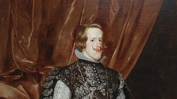 Retrato de Felipe IV, pintado por Velázquez