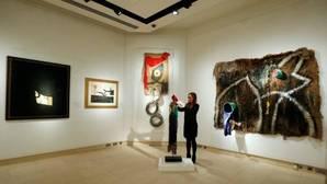 Las 85 obras de Miró del Estado portugués se quedan en Oporto