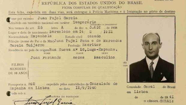 Uno de los documentos desclasificados hoy de Garbo