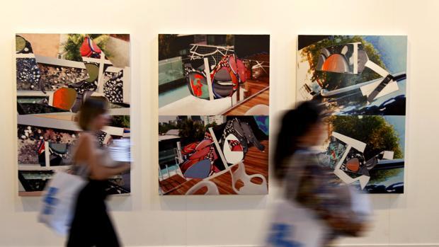 Estancia de la Feria de Arte Contemporáneo Estampa