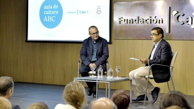 Pablo D'Ors, junto a Francisco Robles