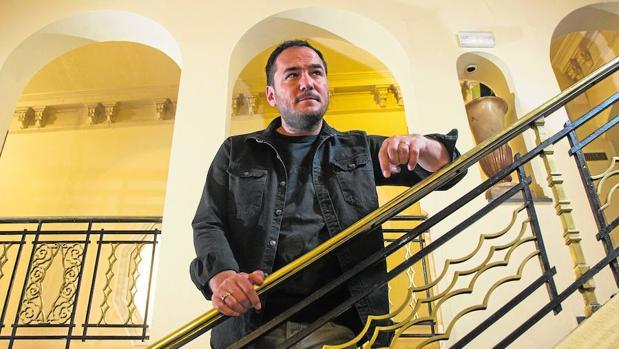 Ismael Serrano en el teatro Nuevo Apolo, de Madrid