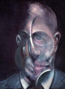«Retrato de Michel Leiris», de Bacon. Centro Pompidou, París