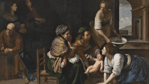 «El nacimiento de San Juan Bautista», de Artemisia Gentileschi