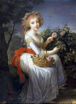 «La princesa María Cristina Teresa de Borbón», de Louise-Elisabeth Vigée-Lebrun