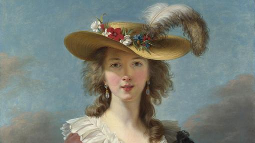 Autorretrato de Louise-Elisabeth Vigée-Lebrun (fragmento)
