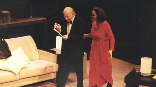 Nuria Espert y Adolfo Marsillach en un recordado montaje de «¿Quién teme a Virginia Woolf?»