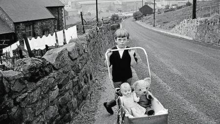 Foto de la serie «Mineros galeses» (1965)