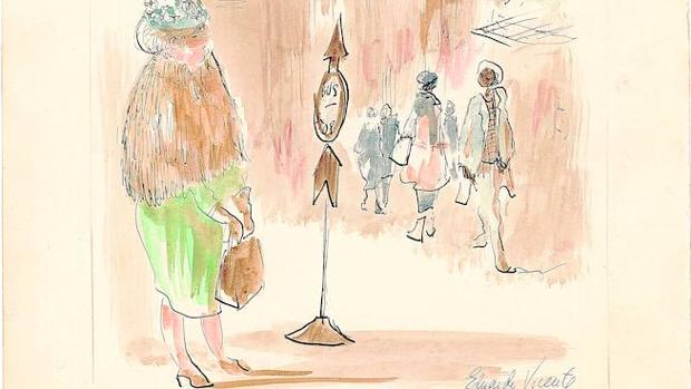 Debijo de la serie «Ojos. Estados Unidos», publicada en «Blanco y Negro» en 1965