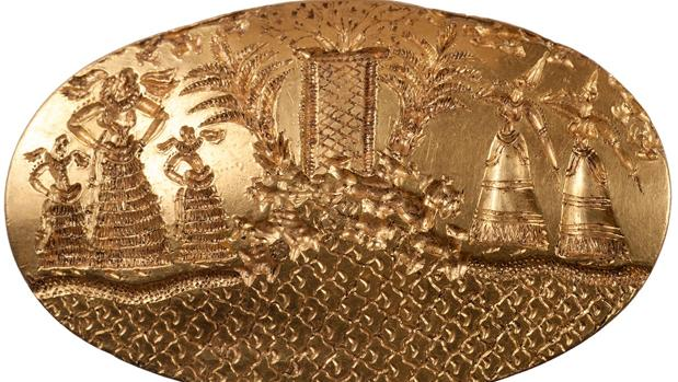 Uno de los anillos micénicos más grandes jamás encontrados, en esta tumba en Pylos