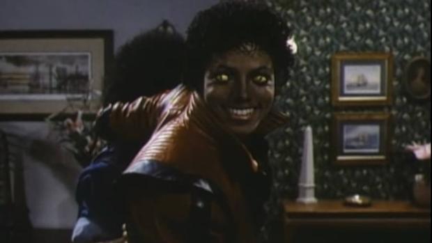 Imagen del vídeo de «Thriller»