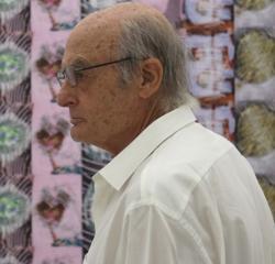 Luis Gordillo, en el CAAC